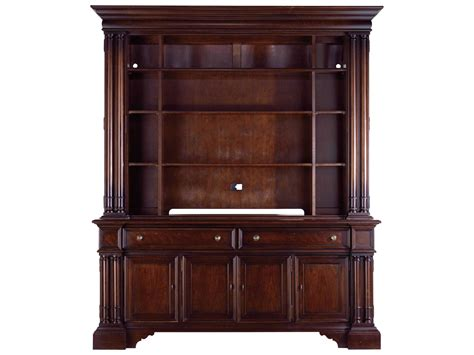 stanley furniture media cabinet stanley furniture city club country estate tv bookcase