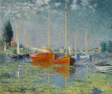 monet boats at argenteuil argenteuil mus 233 e de l orangerie