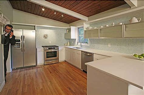 kitchen mod staging a mid century modern house the don draper way