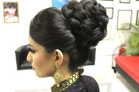 what is a bubble cut hair style look like tutorial indian bridal hairstyle youtube