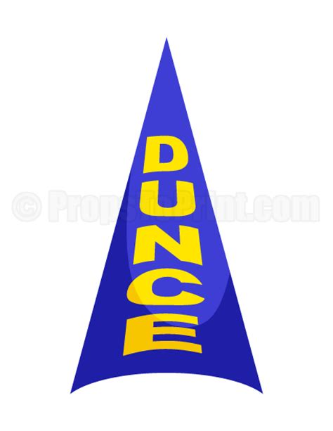 dunce cap photo booth prop