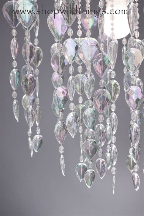 crystal drapes crystal iridescent beaded curtains backdrop big teardrops