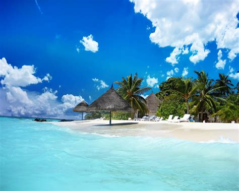 Beautiful Beach Resort Wallpapers, Beautiful Beach Resort