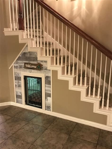 staircase dog house best 25 dog under stairs ideas on pinterest dog rooms pet rooms and puppy room
