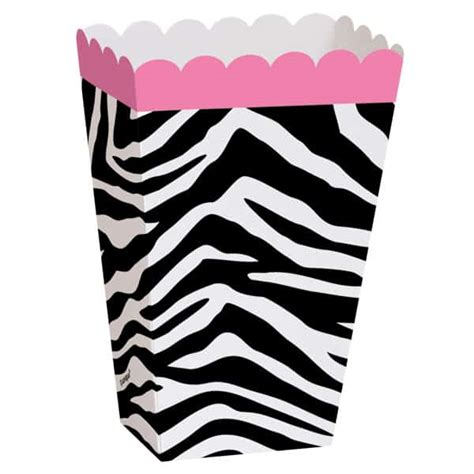 Paking Tutup Klep Zebra 1 0 zebra treat box pack of 8 partyrama co uk