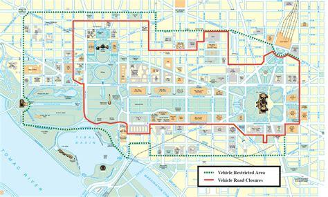washington dc map secret inauguration day 2017 survival guide closures