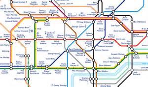 underground station map map finsbury park map