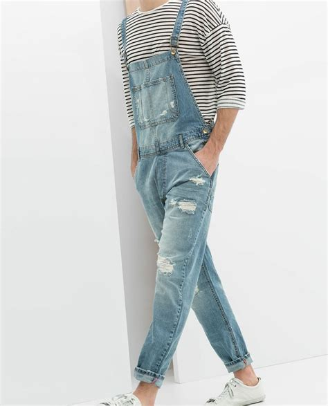 Ripped Overall By Ganez Shop 17 best ideas about salopette homme on