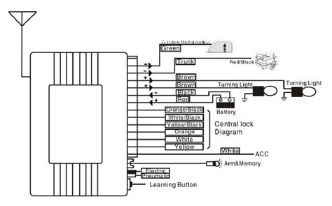 universal power window wiring diagram free