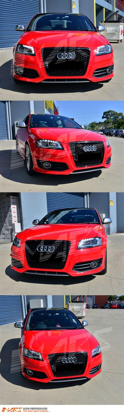 28 audi a3 8p rs look front bumper