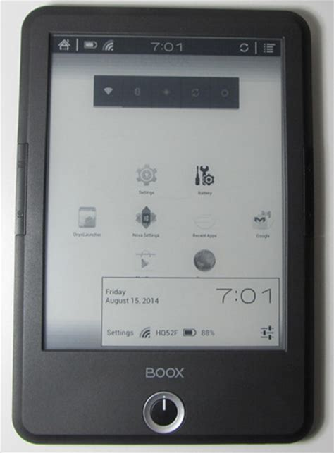 ebook reader android best android e ink ebook readers android ereaders list the ebook reader