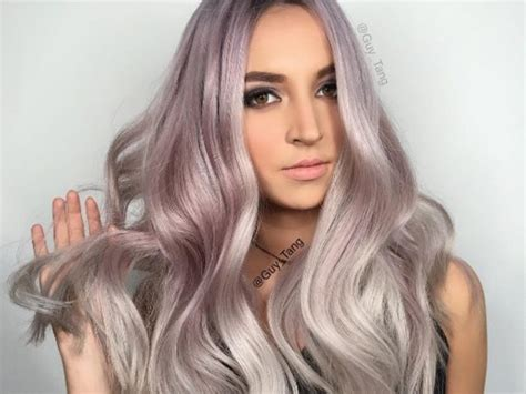 metallic hair color it s now way easier to get amazing metallic hair color