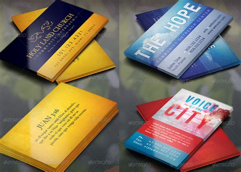 Church Business Card Template by Church Card Archives Inspiks Market