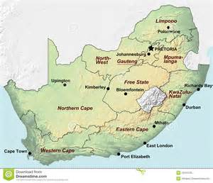 Outline Map Of South Africa With Major Cities by Lourae And Randy S Wonderful World Adventures August 2015