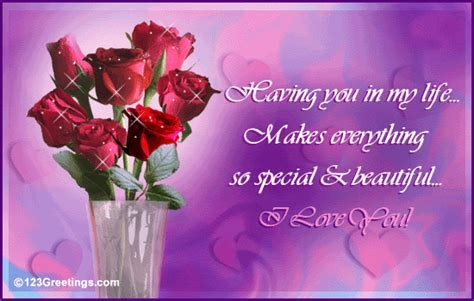 A Beautiful Wish! Free New Love eCards, Greeting Cards