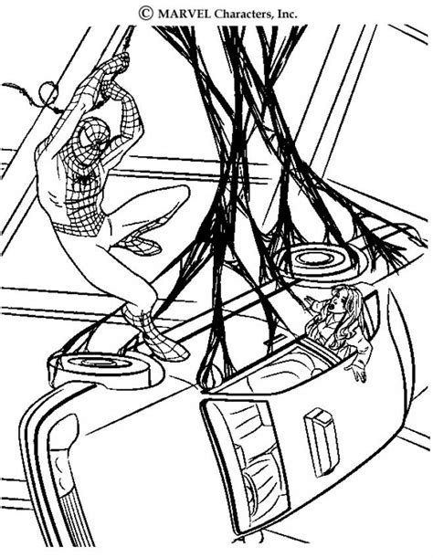 Carnage - Free Coloring Pages