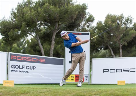 Porsche Golf Cup by Porsche Ag Thrilling Sport At The Porsche Golf Cup World