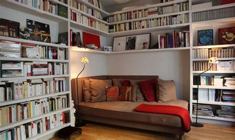 tiny library small office couch small home library ideas tiny home