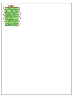 1000 Images About Xmas Printables Free On Pinterest Christmas Letters Nativity Scenes And Nativity Letter Template
