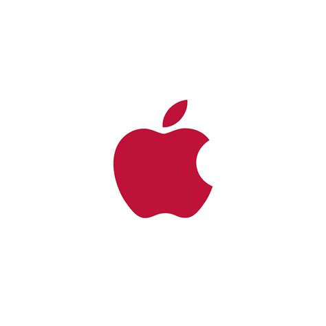 red crystal apple logo iphone wallpaper iphones ipod product red apple