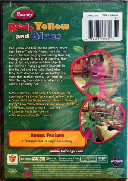 What I Did Not Learn In Mba Barney by Barney 6 Set New Dvds Manners Counting Abcs Read And