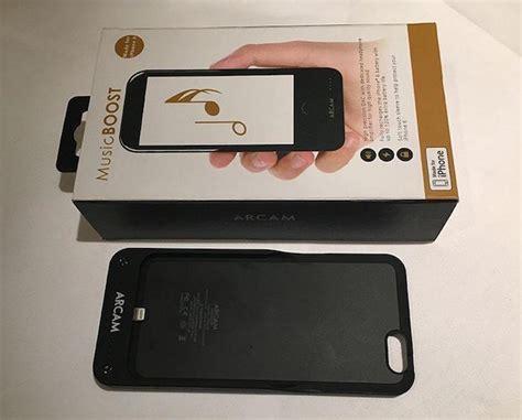 arcam musicboost iphone 6 6s battery dac headphone