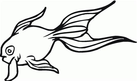 blank fish coloring pages blank fish template az coloring pages clipart best