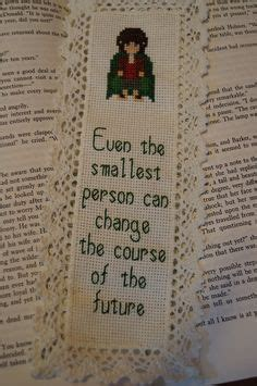 free printable hobbit bookmarks lord of the rings cross stitch bookmark by crafttimeinarkham