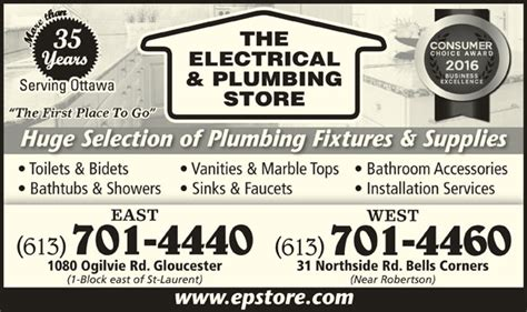 the electrical plumbing store opening hours 1080