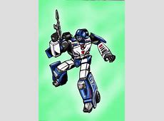 Mirage G1 by JazzLuca on DeviantArt G1 Transformers Mirage Review
