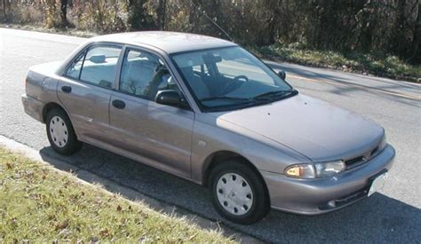 mitsubishi mirage 1994 1994 mitsubishi mirage information and photos zombiedrive