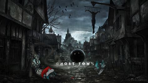 cool wallpaper ghosttown allinix wallpaper precursor studios ghost town by