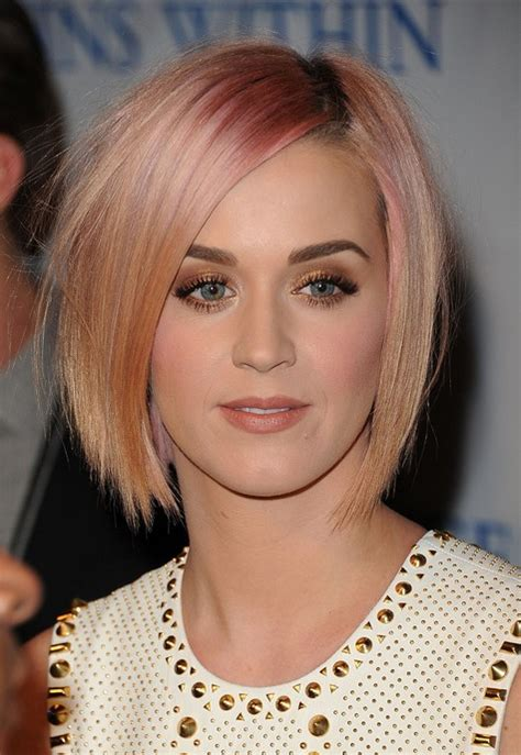 2015 short hairstyles tumblr katy perry short pink bob hairstyle short straight haircut