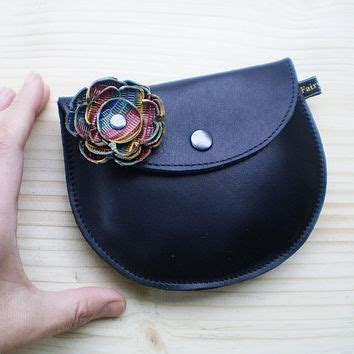 Jet Black Clutch Bag Semburart fairysteps on etsy on wanelo