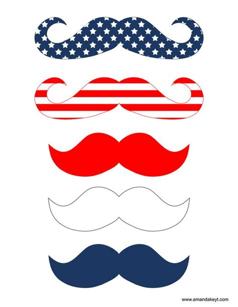 printable fourth of july photo booth props freebies www amandakeyt com freebies diy photo booth