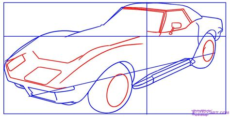 how to draw a car step by step for how to draw a corvette step by step cars draw cars