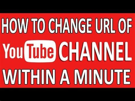 hindi how to change your channel layout youtube update how to change custom url of your youtube channel in a