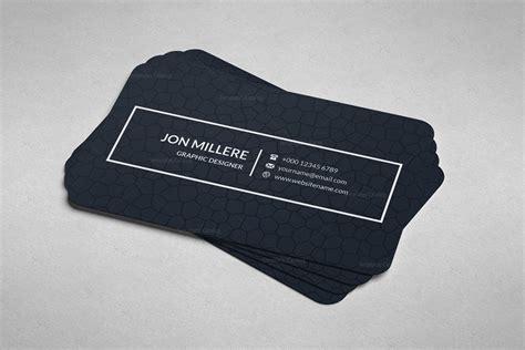 Minimal Business Card Design