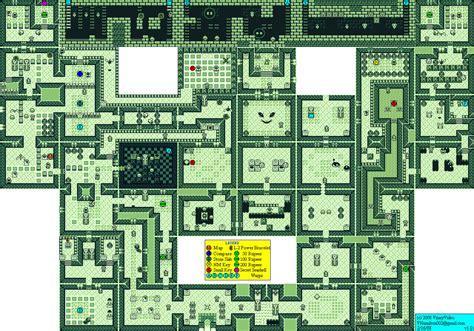 legend of zelda gameboy map the legend of zelda link s awakening level 6 face shrine