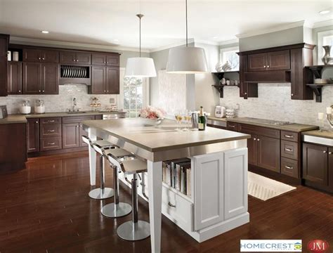 homecrest kitchen cabinets hershing cherry buckboard maple alpine homecrest cabinets