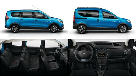 renault dokker interior dacia lodgy stepway and dokker stepway pricing announced