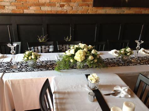 Dress rehearsal dinner table decor ideas   Nate & Sarah's