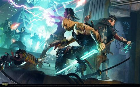 shadowrun wallpapers wallpaper cave