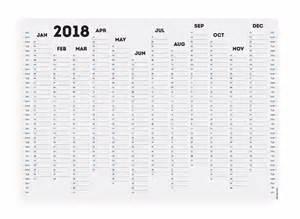 Calendar 2018 Printable Planner White Out 2018 Wall Planner Calendar Organiser A1 A2 Ebay