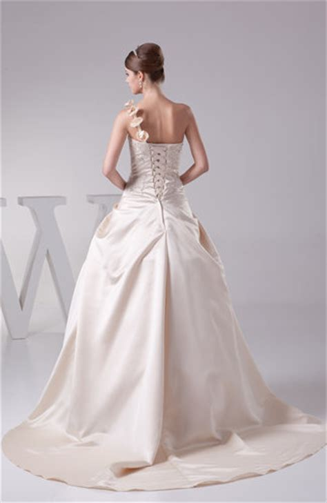 disney princess church ball gown asymmetric neckline court