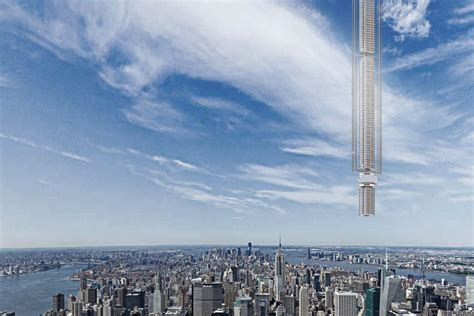 over 50 and under no illusions new york times world s tallest building proposal hangs a megatall on an
