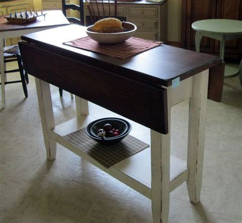 drop leaf kitchen island table the world s catalog of ideas