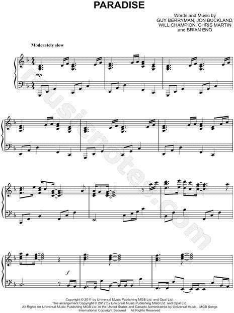 download music mp3 coldplay paradise 1000 images about music on pinterest recital sheet