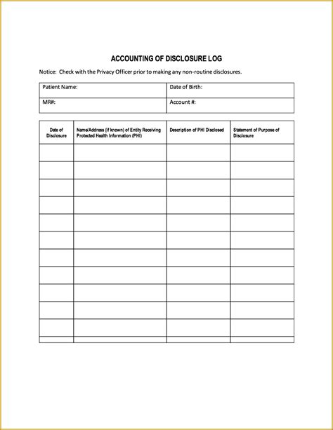 hipaa template forms 4 hipaa release form template fabtemplatez