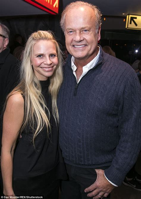 kelsey grammer wife kelsey grammer poses with wife kayte walsh in london